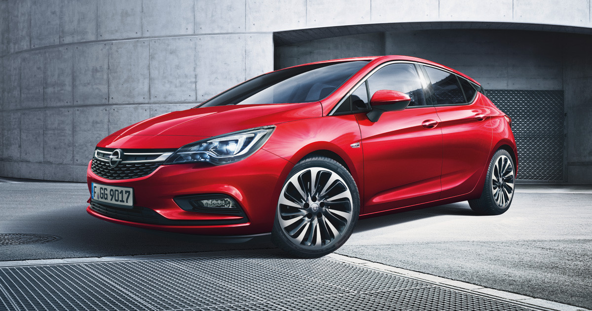 Opel Astra voiture année 2016